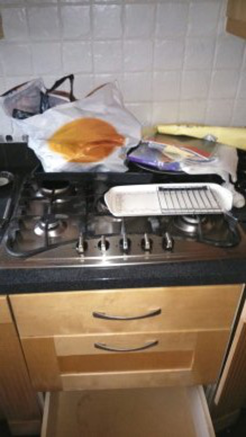 A Kitchen In Tatters