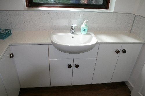 Bathroom with Splashbacks Wigton Cumbria