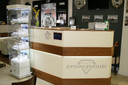 Bespoke Shop Fitting Jopsons Jewelers Carlisle