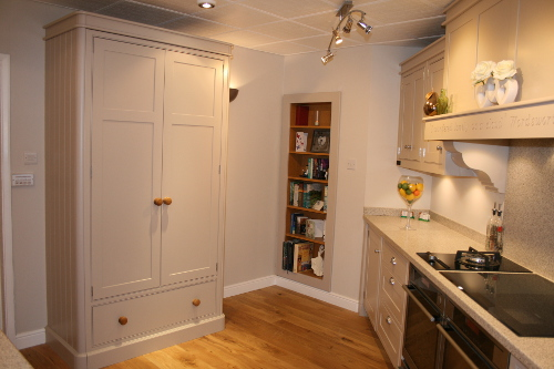 Chef's Pantry With Soft Gables