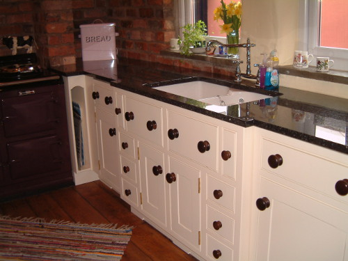 Coloured Lacquers With Hand Turned Oak Knobs