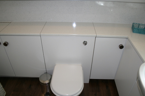 Concealed Cistern With Back To Wall Toilet