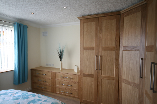 Doors Frames Stained And Panels Natural Finish