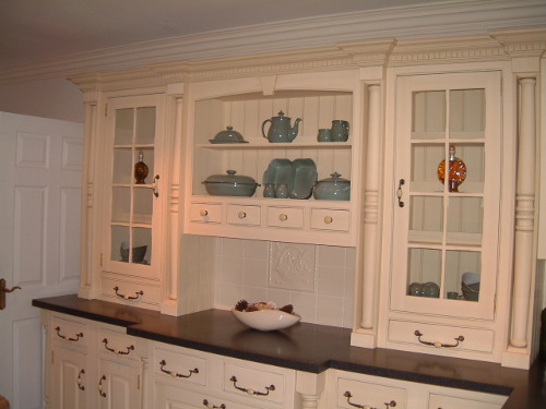 Dresser With Castellated Cornice