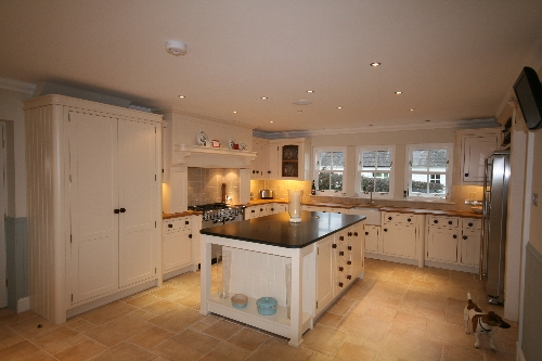 Framed Kitchen with Large Island Haugh Of Urr Castle Douglas