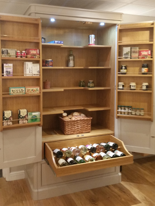 Free Standing Chef's Pantry