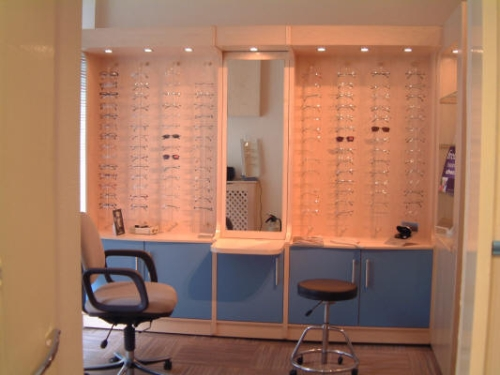 Glasses Fitting Station Shop Fit Edinburgh Scotland