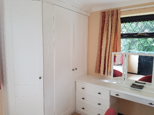 Hand Painted Stable Door Wardrobe With Drawer Chest