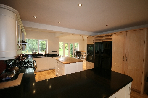 Hand Sprayed Kitchen Scotby Carlisle
