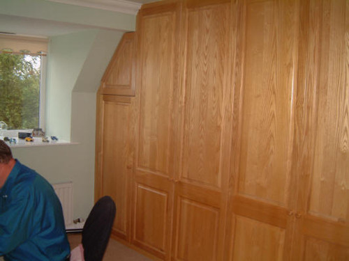 Home Office With Solid Oak Doors