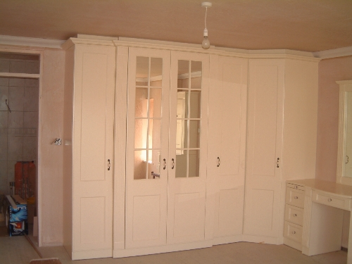 Ivory Lacquered Bedroom Croglin Cumbria