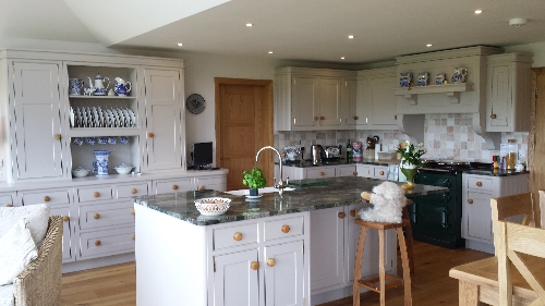 Kitchen with Granite Worktops Bassenthwaite Lake District