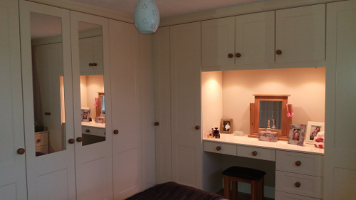Linking Cupboards With LED Lights Below