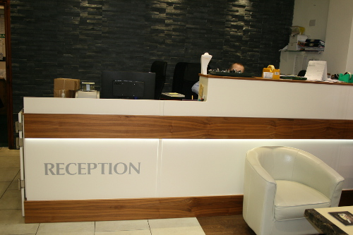Main Reception Desk