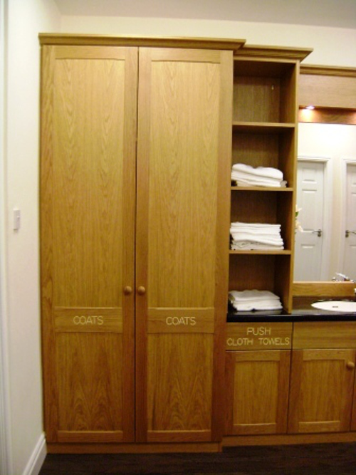 Purpose Built Cloaks Cupboard