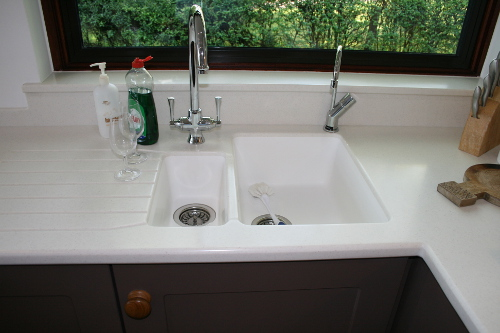 Staron Seamless Sink In Worksurface