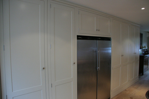 Tall Units With St/St American Fridge Freezer