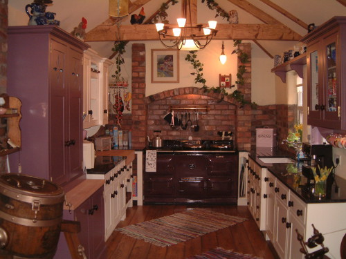 Traditional Kitchen For A Traditional Property