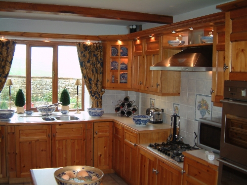 Traditional Kitchen Newcastleton Roxburghshire