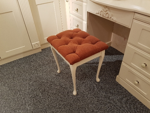Upholstered Matching Stool